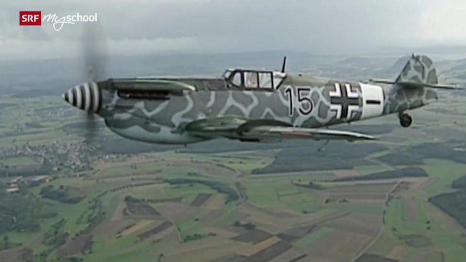 Luftkampf über der Schweiz