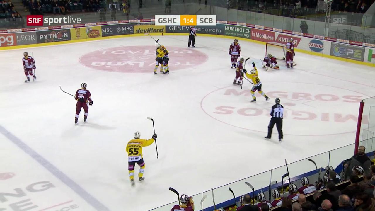 SCB gelingt Auswärtssieg gegen Genf