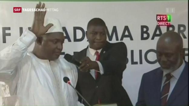 Video «Erschwerter Regierungswechsel in Gambia» abspielen