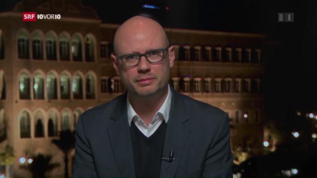 Video «Pascal Weber zur neuen US-Nahost-Politik» abspielen