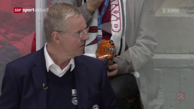 Video «Der SCB sorgt weiter für Furore in der Champions League» abspielen