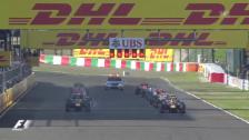 Video «F1: Start- und Schlussphase in Suzuka («sportlive»)» abspielen