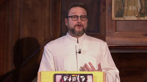 Video «Evangelisch-reformierter Gottesdienst aus Môtiers» abspielen