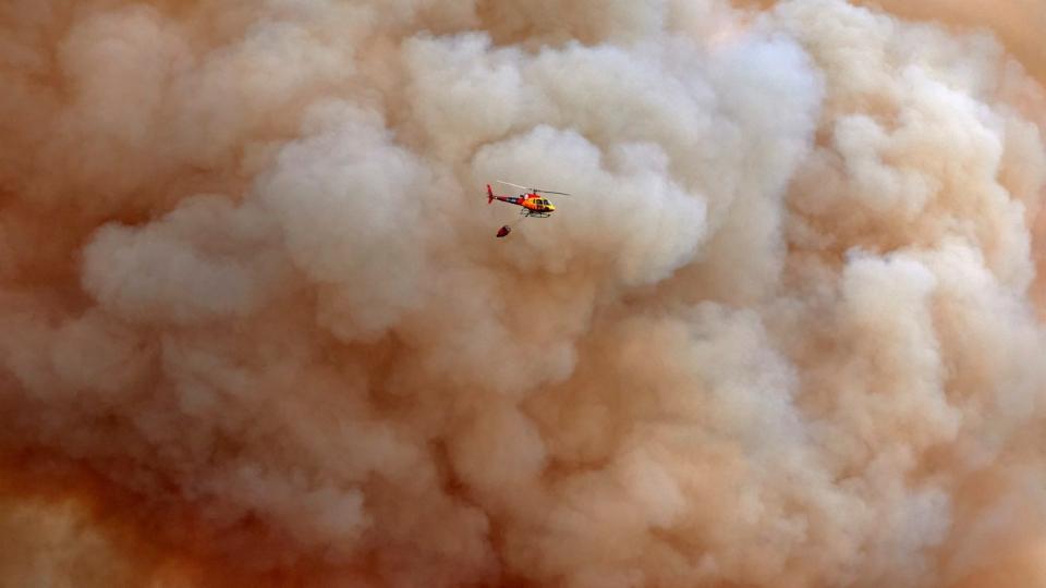 Wegen Waldbrands in Südfrankreich: Massiver Stromausfall in Spanien