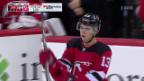 Video «Alle sind zufrieden: Hischier mit geglückter NHL-Premiere» abspielen