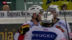 Video «Eishockey: Lakers - Bern» abspielen