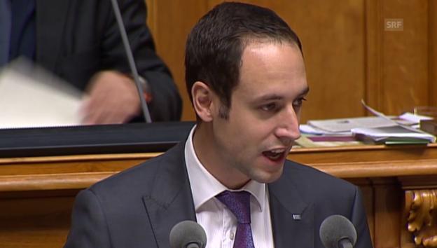 Video «FDP-Nationalrat Wasserfallen: «Weiterbildung ist Privatsache»» abspielen