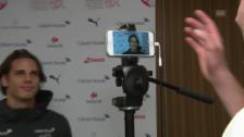 Link öffnet eine Lightbox. Video Sommer testet Stollen und beweist schauspielerisches Talent abspielen