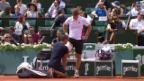 Video «Muskelprobleme: Gasquet muss aufgeben» abspielen