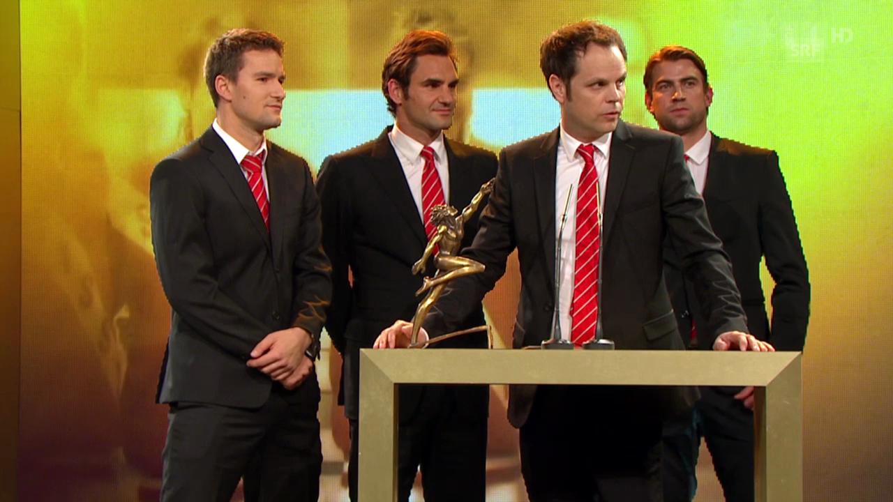Sports Awards: Davis-Cup-Team wird «Team des Jahres»