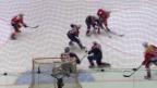 Video «Eishockey: Deutschland Cup, Schweiz - USA» abspielen