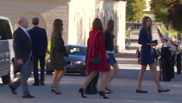 Video «Milana bei der Taufe von Prinz Nicolas von Schweden (unkomm.)» abspielen