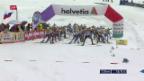 Video «Gelungenes Rennen für Cologna» abspielen