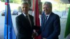 Video «Aussenminister diskutieren den Hotspot Como» abspielen