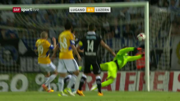 Video «Luzern gewinnt in Lugano» abspielen