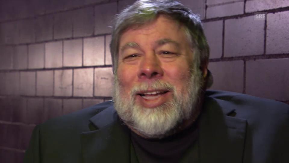 Apple-Gründer Steve Wozniak im Interview