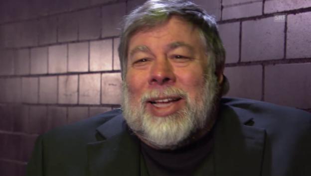 Video «Apple-Gründer Steve Wozniak im Interview» abspielen