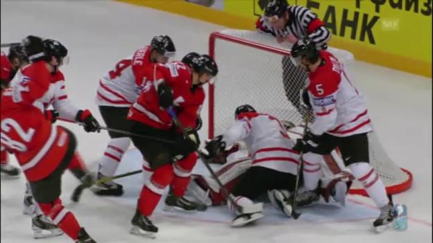 Video «Niederreiters 2:2 gegen Kanada» abspielen