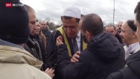 Video «Pariser Muslime verunsichert» abspielen