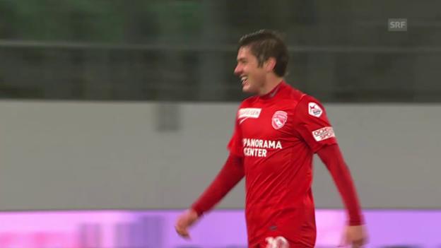Video «Fussball: Tor Marco Rojas» abspielen