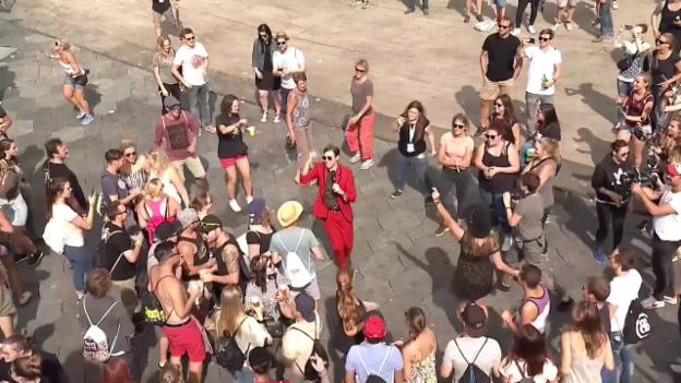 Video «Saint Motel - «My Type» Gurtenfestival» abspielen
