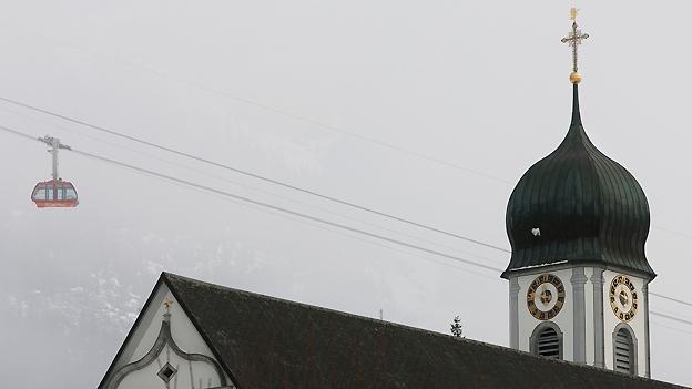 Glockengeläut der Stiftskirche in Engelberg