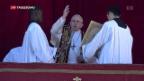 Video «Weihnachtsbotschaft des Papstes» abspielen