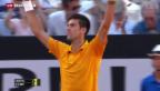 Video «Federer verliert gegen Djokovic» abspielen