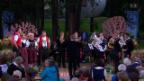 Video «JQ AlpeXang & Blechbläserquintett der MG Ennetbürgen» abspielen