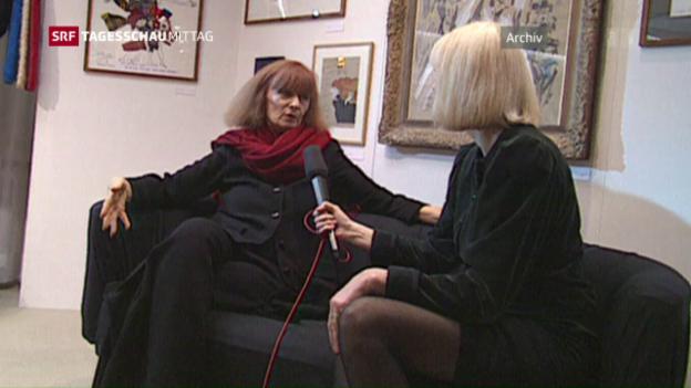 Video «Modeschöpferin Sonja Rykiel mit 86 Jahren gestorben» abspielen