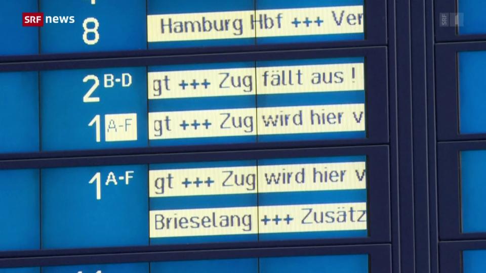 Aus dem Archiv: Und wieder streikt die Deutsche Bahn