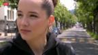 Video «Rapperin Steff La Cheffe erobert die Hitparade» abspielen