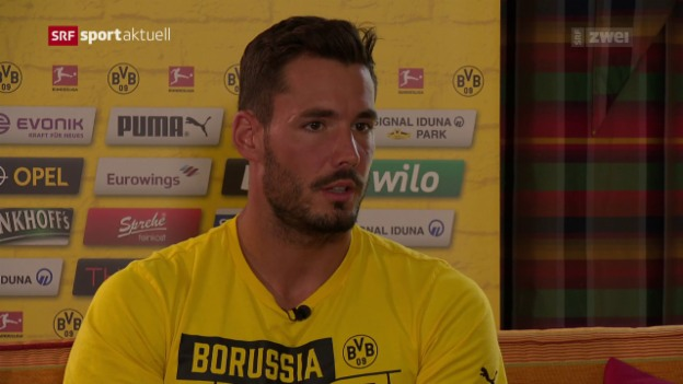 Video «Roman Bürki im BVB-Trainingslager in Bad Ragaz» abspielen