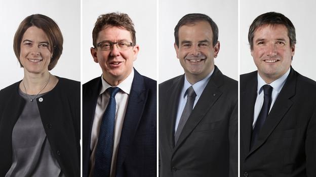 Die Parteipräsidenten