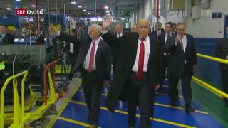 Video «Donald Trump und die Autoindustrie» abspielen