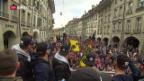 Video «So feiert der SCB den Meistertitel mit den Fans» abspielen