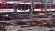 Link öffnet eine Lightbox. Video Bahnhof Luzern erhält neue Weichen abspielen