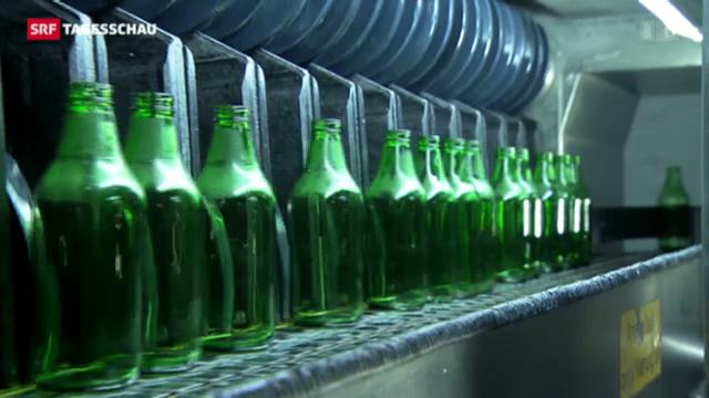 Bauern unterstützen Pfandflaschen
