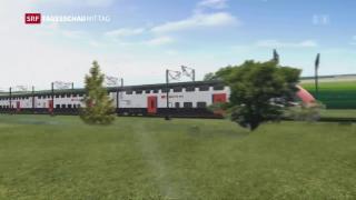 Video «Neue Züge für SBB» abspielen