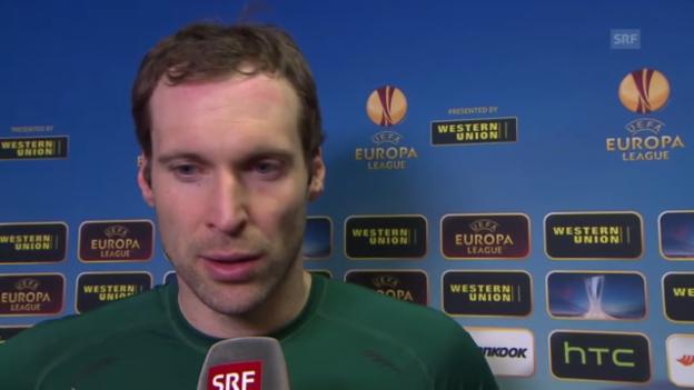 Video «Interview mit Petr Cech» abspielen
