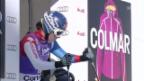 Video «Ski alpin: Dominique Gisin bei der Abfahrt in Cortina («sportlive»)» abspielen