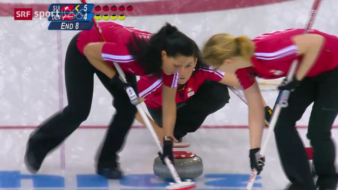 Curling: Zusammenfassung Spiele der Schweizerinnen («sotschi aktuell», 11.02.2014)