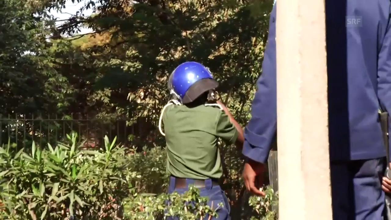 Armee in Simbabwe schießt auf Demonstranten