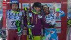 Video «Ski: Männer-Abfahrt in Lake Louise» abspielen