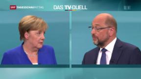 Video «Merkel und Schulz in Harmonie» abspielen