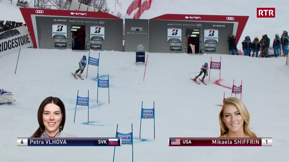 Premiera gartegiada tar il prim slalom parallel a San Murezzan