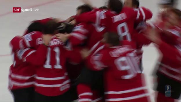 Video «Kanada - Finnland: Die Live-Highlights» abspielen