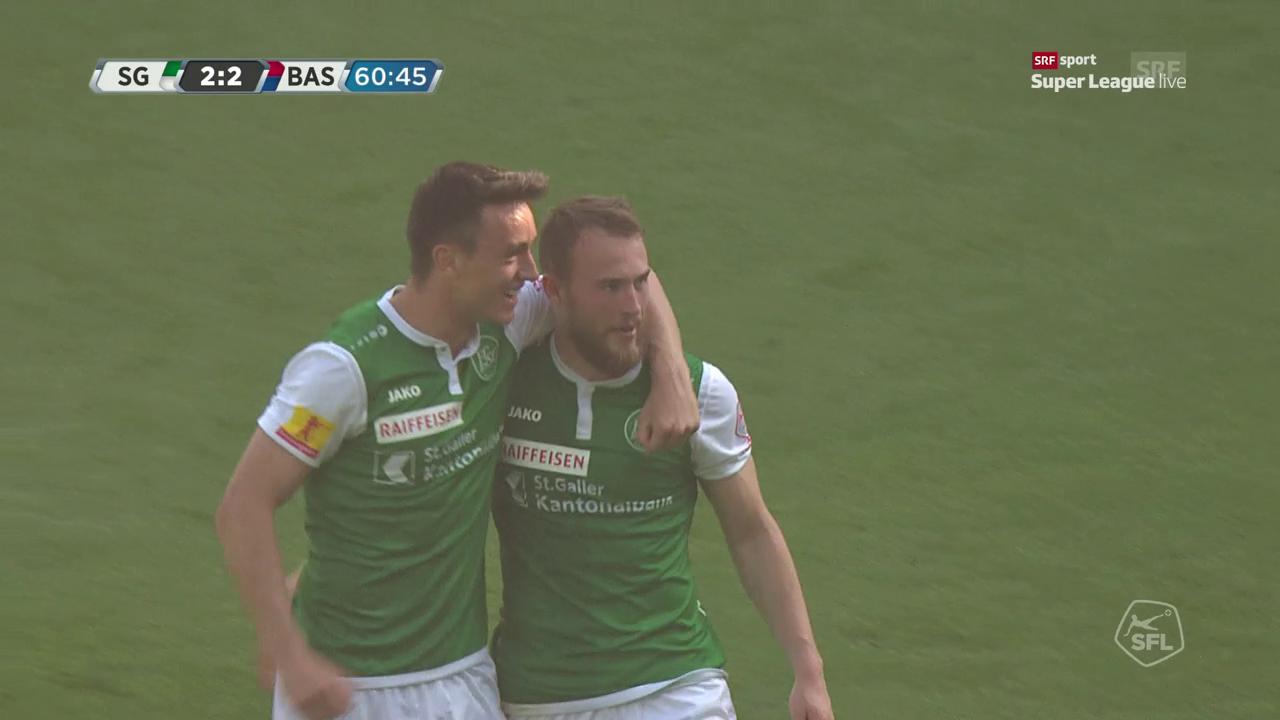 Sigurjonssons Knaller gegen Basel
