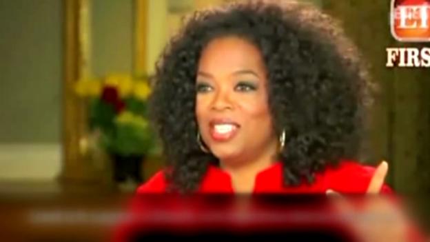 Video «Oprah Winfrey über ihr Zürcher Shopping-Erlebnis» abspielen