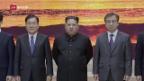 Video «Nord- und Südkorea nähern sich diplomatisch» abspielen